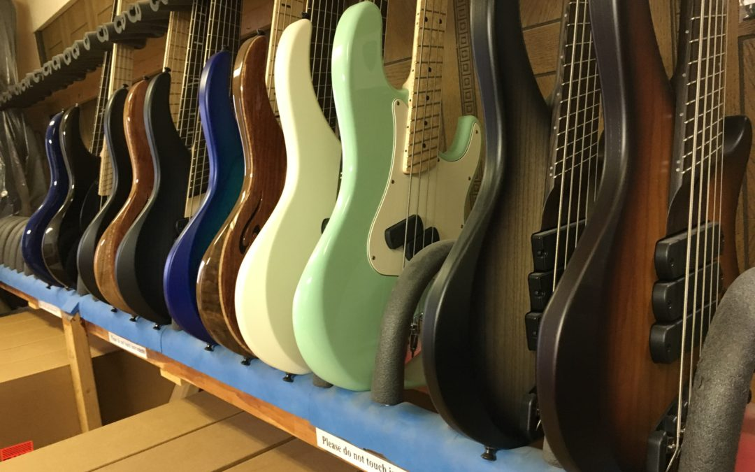 Eye Opening Tour of Dingwall Guitars