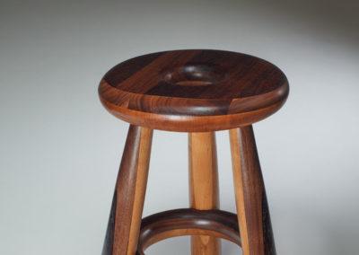 Skewl (Michel Fulop), 2017: Wenge, walnut, alder, western maple wood; turning, traditional joinery. $450
