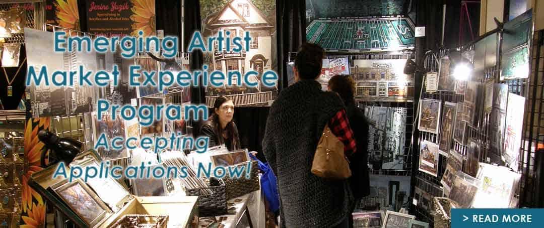 Emerging Artist Market Experience Program