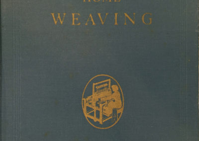 Home Weaving (Oscar Beriau), 1947 edition, originally published 1939. Collection of Shelley Hamilton.