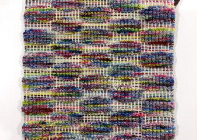 Happy Bubbles Tea Mat (JacQueline Keller), 2017: Cotton, wool; Boutonne (Turfed or loop weave). $75