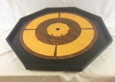 Crokinole Board, by Katie Jantzen