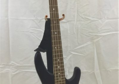 Abalone and Mother of Pearl inlayed Bass Guitar, by Alex Funk