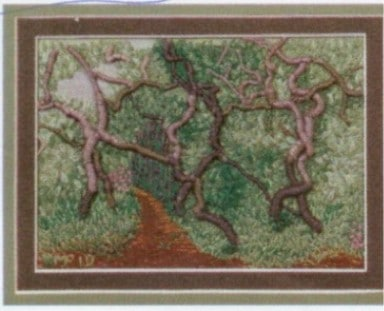 Crooked Trees - Threadworks 2010 - sold to Frantz Vettiger of Switzerland-2012