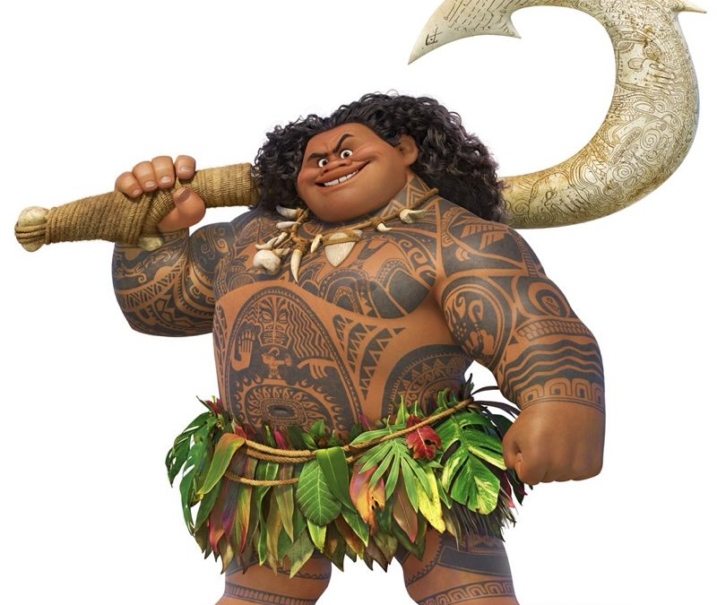 Making Maui's Hook
