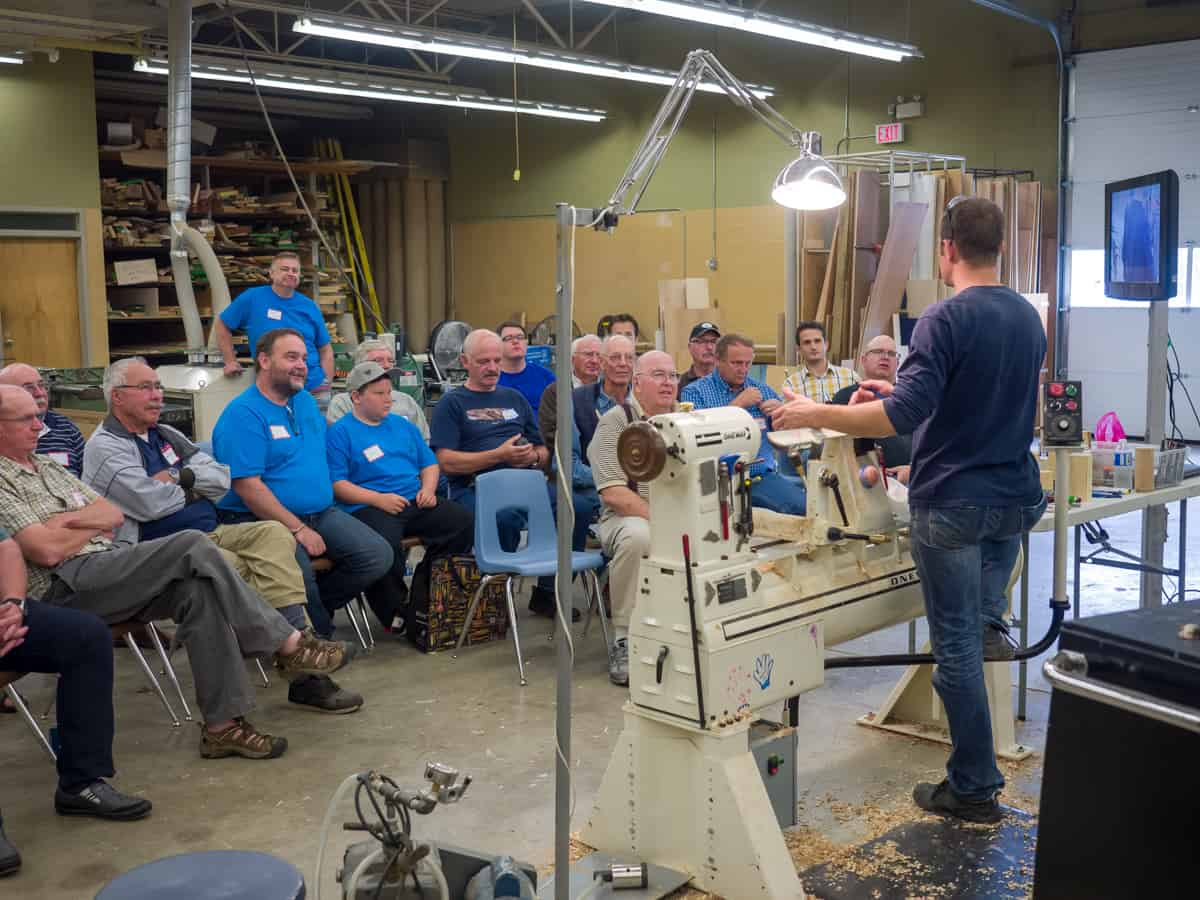 2017 Saskatchewan Woodworkers Symposium. Photograph by Trent Watts.