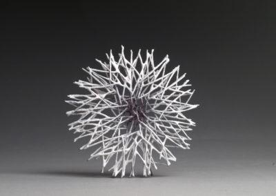 33. Innate Gesture 2011-1 A (Kye-Yeon Son), 2011: Steel, enamel. $770