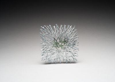 35. Innate Gesture 2017-5 (Kye-Yeon Son), 2017: Steel, enamel. $700