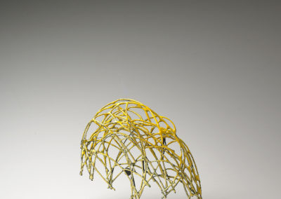 41. Innate Gesture 2011-8 (Kye-Yeon Son), 2011: Steel, enamel. $560