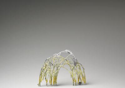 42. Innate Gesture 2011-10 (Kye-Yeon Son), 2011: Steel, enamel. $560