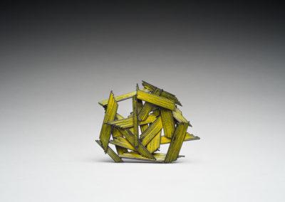 48. Innate Gesture 2017-6 (Kye-Yeon Son), 2017: Steel, enamel. $630