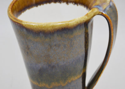Electric Brown Large Wave Mug
