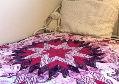 Quilt by Reagan Lowe.