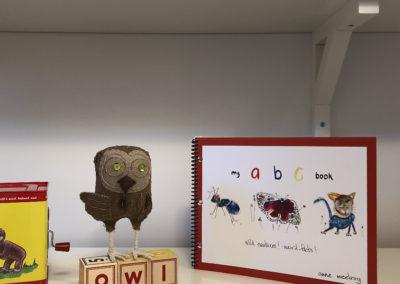 Owl by Dawn Rogal & book by Anne McElroy.