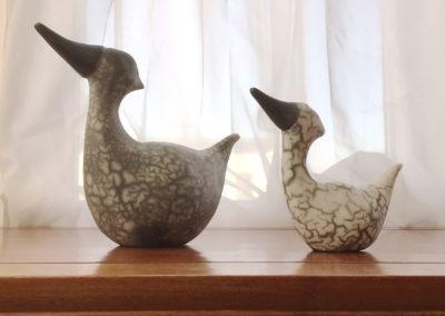 Ducks by Paula Cooley.