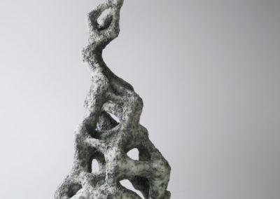 37. Clathrus (Paula Cooley), 2018: Earthenware, slip, sand, oxides, underglazes, engobe. $450