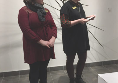 SCC Exhibitions Coordinators: Stephanie Canning & Maia Stark
