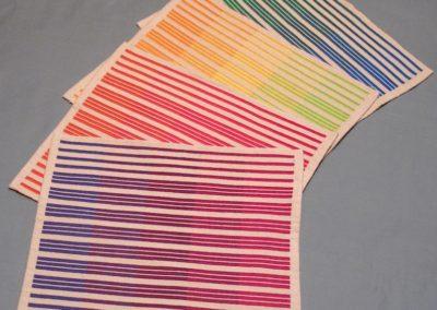 Rainbow Place mats