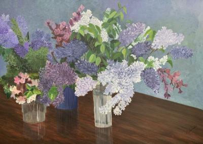 """Harvest"" 24 x 36, Acrylic"