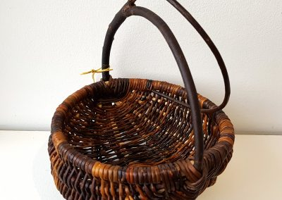 Woven basket by Morley Maier