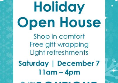 Join us for our annual Holiday Open House!