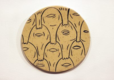 Infinity face wall hanging
