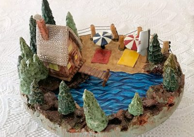 02 Cottage with Canoe