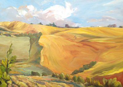 east of edam oil on canvas