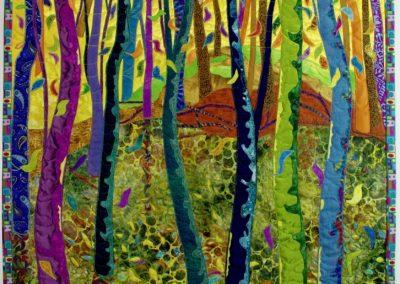 _Diversity_, 2017, 29_ x 44_, fabric collage, Hilary Johnstone